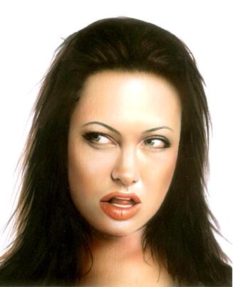 Angelina Jolie by javed_hashmi742005